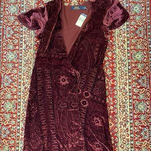 Ralph Lauren Burnout Maxi Dress